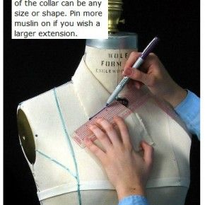 How To Drape A Collar