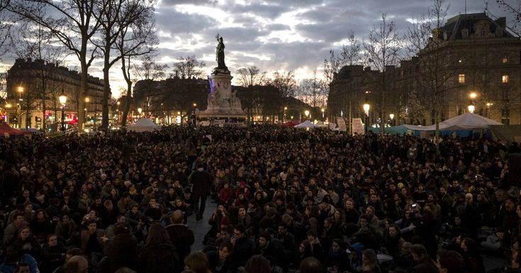 'Up All Night' Protests Sweep France as 100,000 Join Pro-Democracy Movement 'This movement was not born and will not die in Paris...It has no limit, no border and it belongs to all of those who wish to be part of it.'