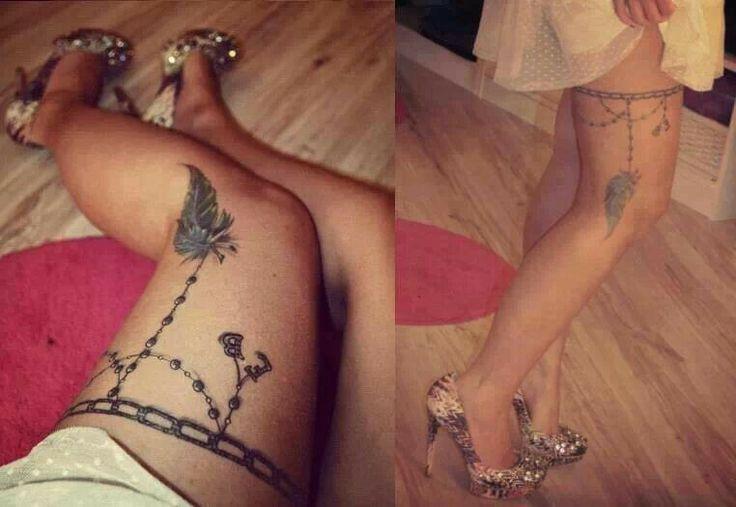 strumpfband tattoo sexpartys dortmund
