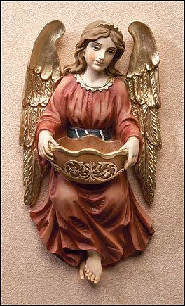 Angel Holy Water Font : Online Catholic Store