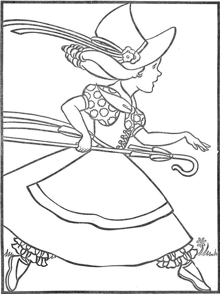 little bo peep coloring page - 52 best icolor nursery rhymes images on pinterest