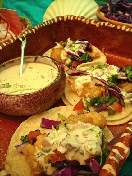 Baja style fish tacos reminds me of my years living in southern cali best mexican food for The best fish taco recipe in the world