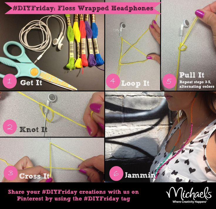 These are just too dang cute! Gotta try it one day... DIY Floss Wrapped…