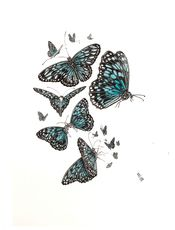 'Butterfly Love' A2 Limited Edition Print