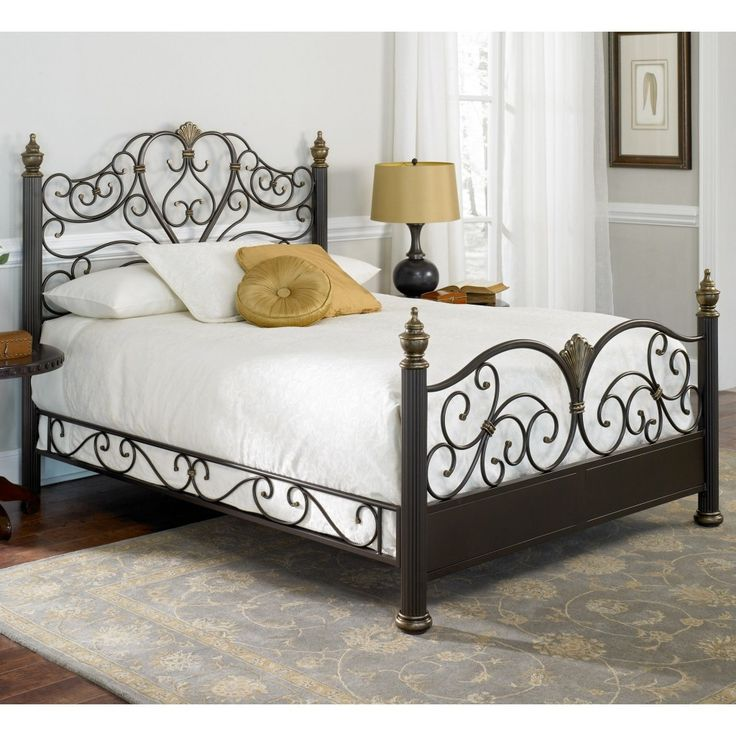 white wrought iron bed frame queen 25 best ideas about wrought iron bed frames - White Iron Bed Frame Queen