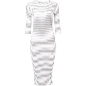 Je kunt nooit genoeg streepjes hebben. Ook deze super leuke maxi jurk is nu in de uitverkoop! #mode #dames #jurk #strepen #women #fashion #stripes #dress #sale