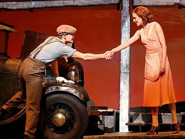 Photo 15 of 18 | Laura Osnes as Bonnie Parker in Bonnie & Clyde. | Bonnie & Clyde: Show Photos | Broadway.com