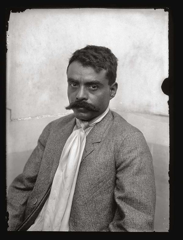 Emiliano Zapata. August 8, 1879 - April 10, 1919.    Today marks 133 years since the birth of General Emiliano Zapata Salazar. Known as the 'Caudillo del Sur,' Zapata commanded thousands as the leader of the Ejército de Liberación del Sur, or the Southern Liberation Army, during the Mexican Revolution.    His image and name remains a symbol of the ideals and principles that guide the Mexican people.