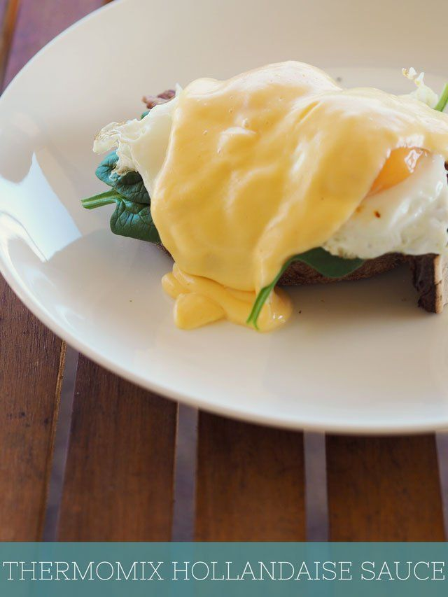 Don't forget the Hollandaise! So quick and easy with this Thermomix #recipe via @FatMumSlim