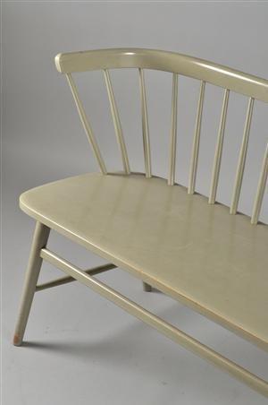Lauritz.com - Furniture - Soffa, gråmålad, 1950-60 tal Denna vara har satts till omförsäljning under nytt varunummer2335681 - SE, Helsingbor...