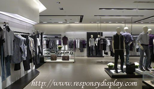 Clothing display stands that are shelves are the mainly constituent of clothing stores. It is art and learning of display stands design and exhibitions. Now, more and more clothing display enterprises started have awareness of brand and enhancement of the products value by brand operating.