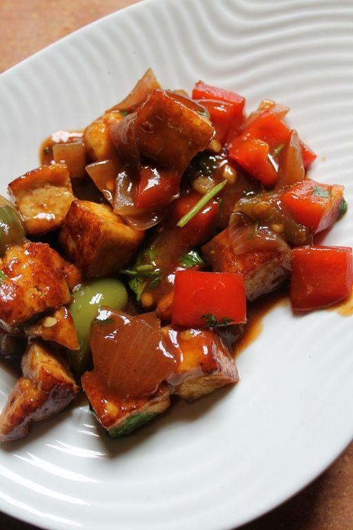 YUMMY TUMMY: Chinese Paneer Stir Fry Recipe / Chinese Style Paneer Recipe