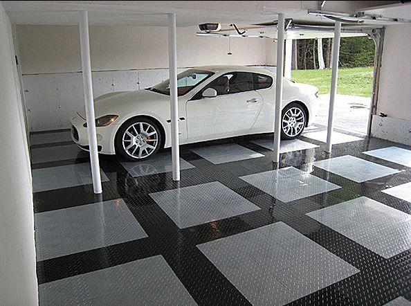 Mejores 25 im genes de garage en pinterest piso de - Baldosas para garaje ...