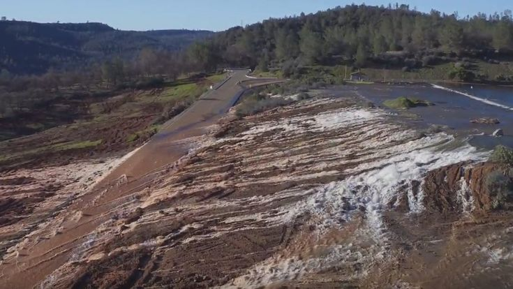 DWR: Lake Oroville's water levels are dropping