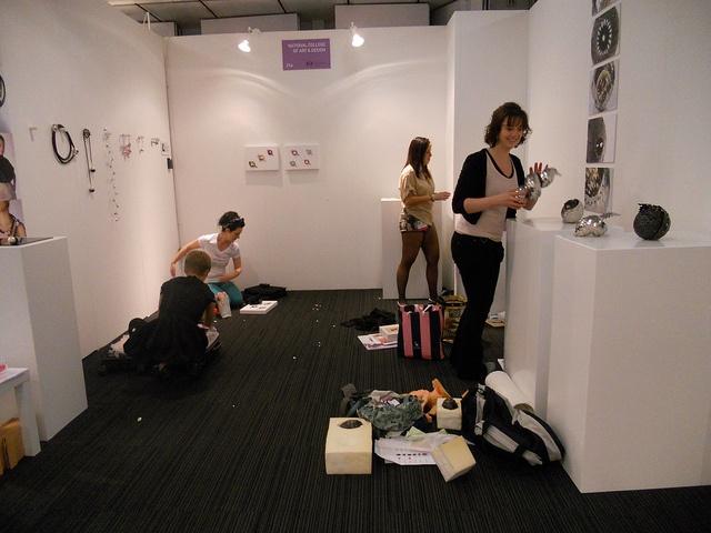 New Designers 2011 撤展