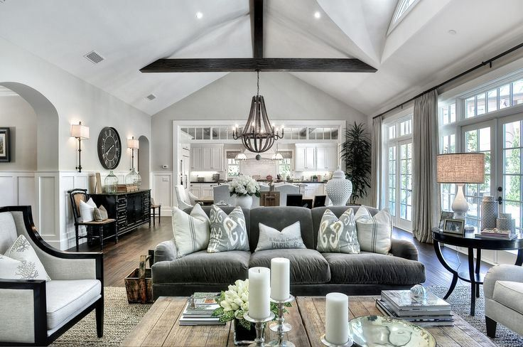 Like: again open concept, wood beams, windows, lots of light