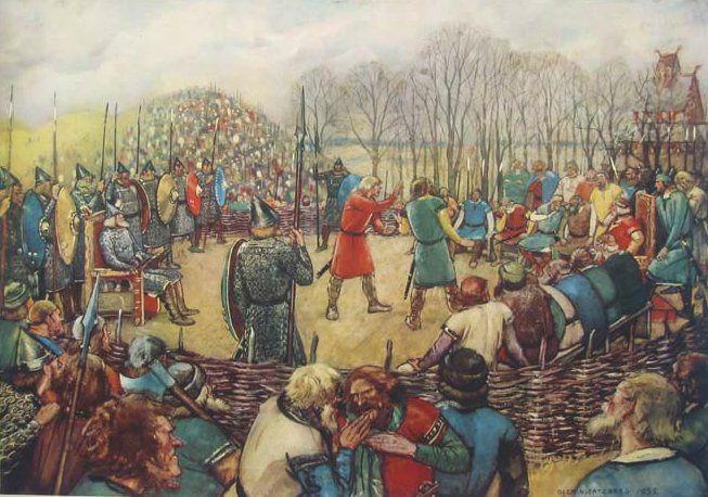 Vikingové na speciálních shromážděních rozhodovali o právu a zákonech.