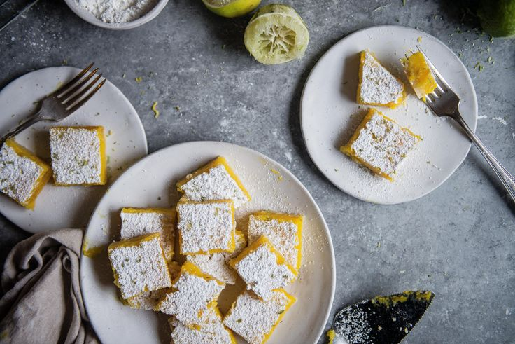 These lime bars from Sweeter Off the Vine are everything I wanted -- silky-smooth, with a gentle tartness and a subtle warmth from the saffron threads.