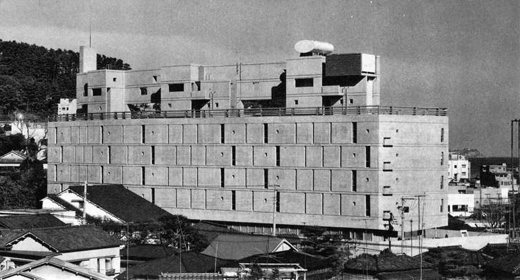 Atami Garden Hotel, Shizuoka Prefecture, Japan, 1962 Kenzo Tange