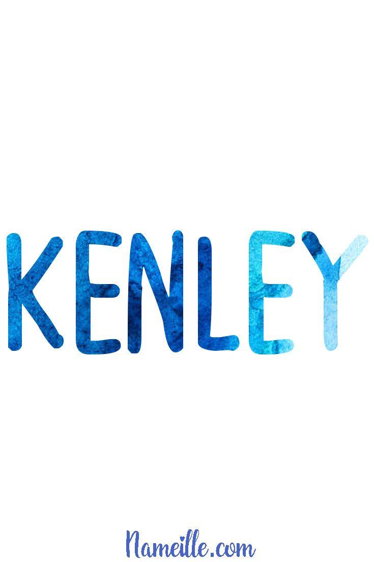 Baby Boy Names @ Nameille.com KENLEY