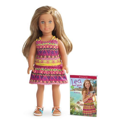 American Girl Mini Doll Lea Clark Girl of The Year for 2016 Ready to SHIP | eBay