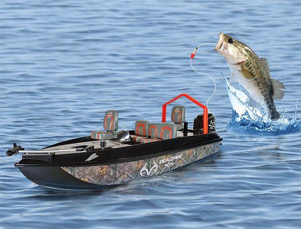 Voor de echt luie vissers: een op afstand bestuurbare vissersboot