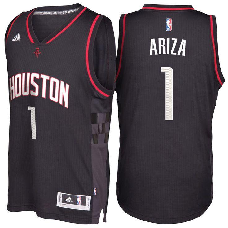 Houston Rockets #1 Trevor Ariza 2016-17 Alternate Black Space City Swingman Jersey