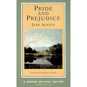 I read this at least twice a year.Worth Reading, Norton Critical, Book Worth, Jane Austen, Favorite Book,  Dust Covers, Critical Editing, Book Jackets, Pride And Prejudiced