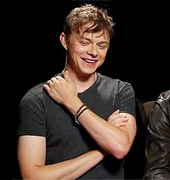 damn that shoulder rub..... #dane dehaan #sexy