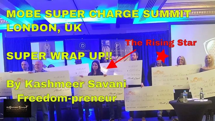 MOBE SUPER CHARGE SUMMIT LONDON APRIL 2017: Super Wrap Up