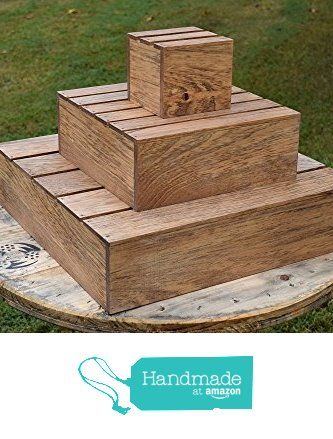 Wooden 3 Tier Cupcake Tower Stand                                                                                                                                                      More