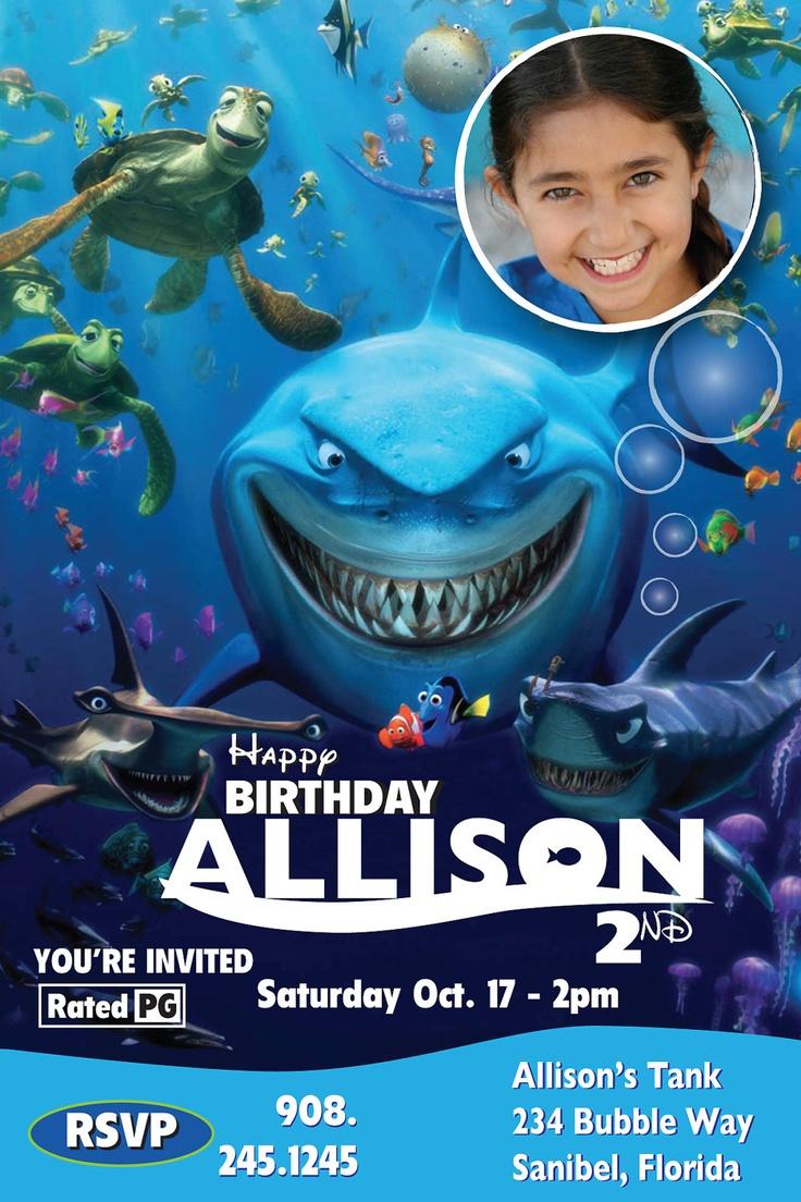 40 bästa bilderna om Adysynn\'s Nemo Party på Pinterest ...
