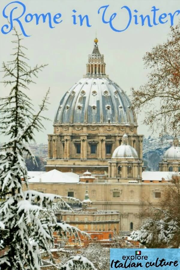Rome S Climate In Winter Rome Winter Rome Weather Rome