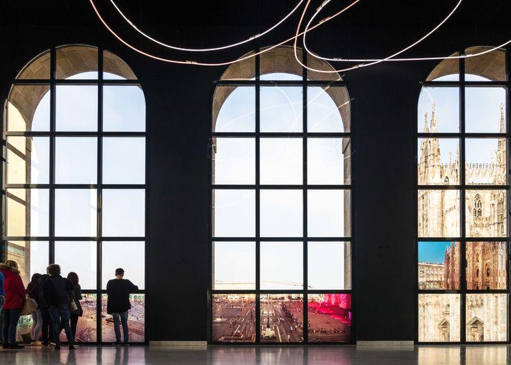 Paola Di Bello, Allestimento Sala Fontana, Museo del Novecento ©Alessandro Allegrini