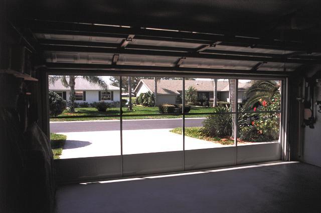 Garage Door Screen Panels Eze Breeze Do It Yourself