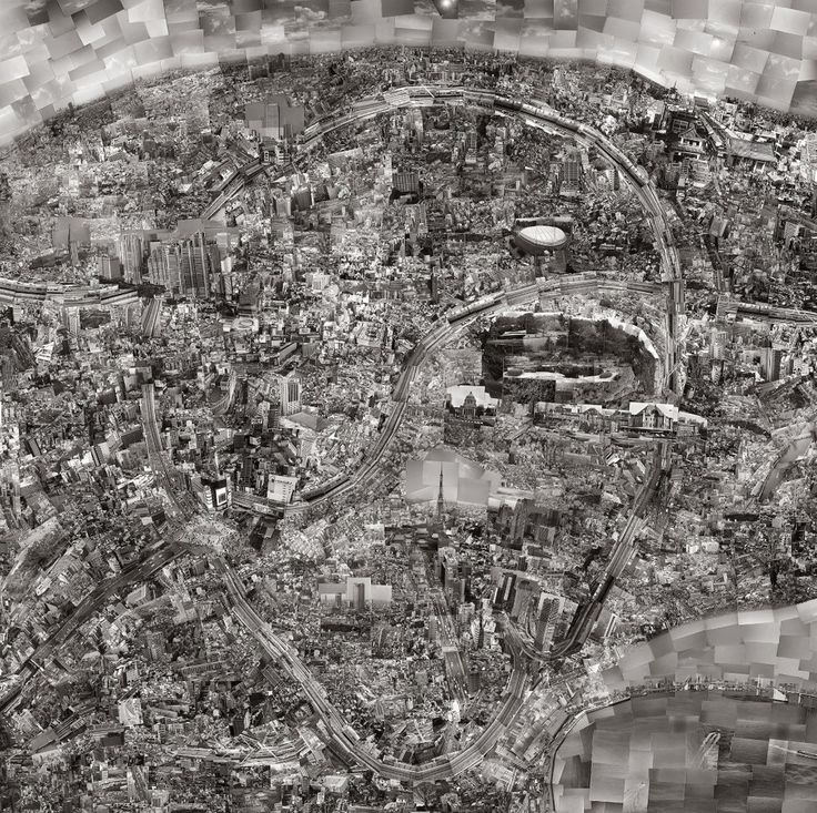 Sohei Nishino - Diorama City Maps | LensCulture