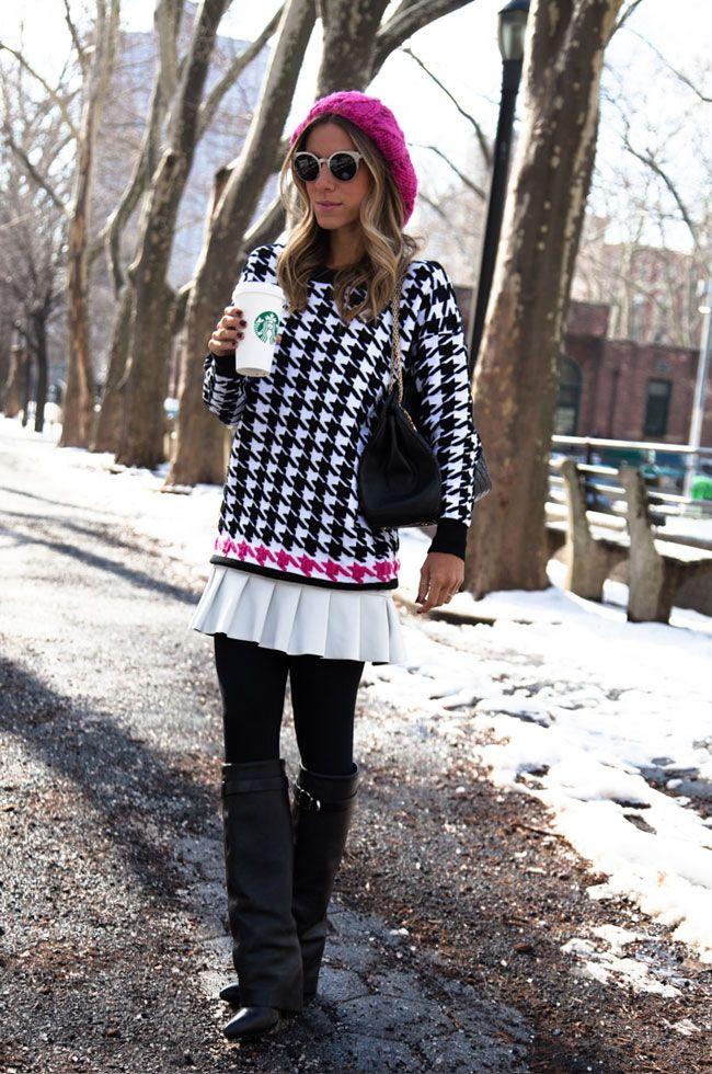 Look do dia no ar: Amo Blessed!! <3  http://www.glam4you.com/2014/03/look-dia-preferido-blessed-em-new-york/