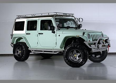 2012 Jeep Wrangler Unlimited Sport, its mint green!! I can't wait to get another.... When the car seats are gone!