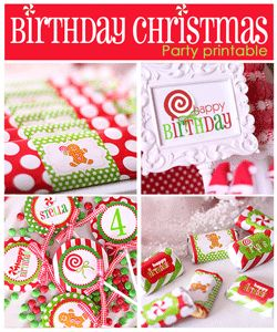 Tons of cute printables for parties, some freebies too