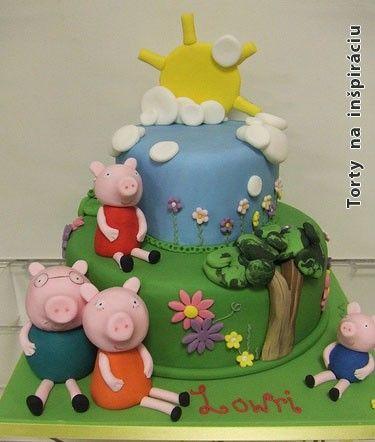 Detské inšpirácie » Torta Torta z rozprávky 3 prasiatká, torty pre deti