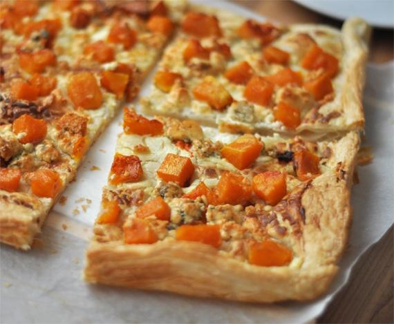 Sütőtökös-gorgonzolás lepény | Csak a Puffin ad Neked erőt