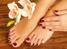 #Pedicure Treatments in Parlour  Sanu'z Pedicure begins with a calming ritual incorporating our signature essential oil blend to induce deep relaxation. You will enjoy the warmth of your neck and shoulder wrap while experiencing a therapeut - by Sanuz Beauty Studio, Coimbatore