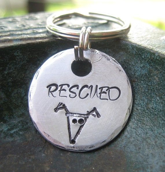 Yes, I did rescue my pups: Angel Puppies, Diy Ideas, Etsy Dogs, Stamps Greyhounds, Tags Dogs, Pet Tags, Dogs Tags, Stamps Pet, Animal Accessories