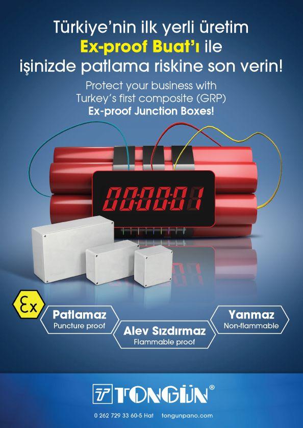 Türkiye'nin ilk yerli üretim Buat'ı ile patlamalara son. Teknopark İstanbul, Tongün Grup,
