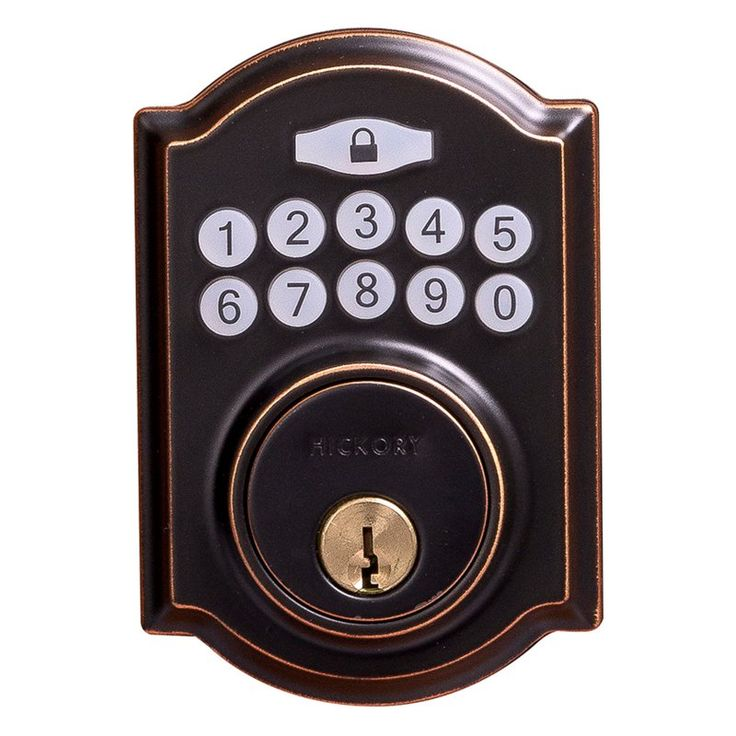 Hickory Hardware Traditional Electronic Keypad Deadbolt - HH075772-ABZ