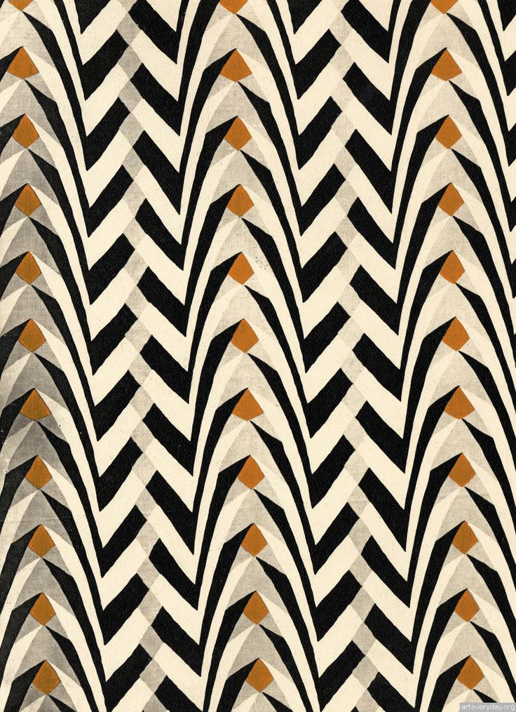Cream, yellow, gray & black pattern