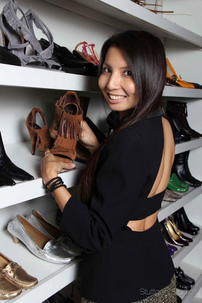 From the PS BANANAS #fashionblog - #Armani #openback #blazer