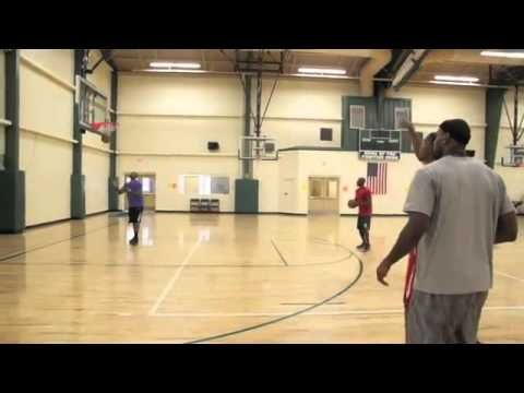 Kevin Durant & LeBron James Get In A Workout At The University Of Akron!.