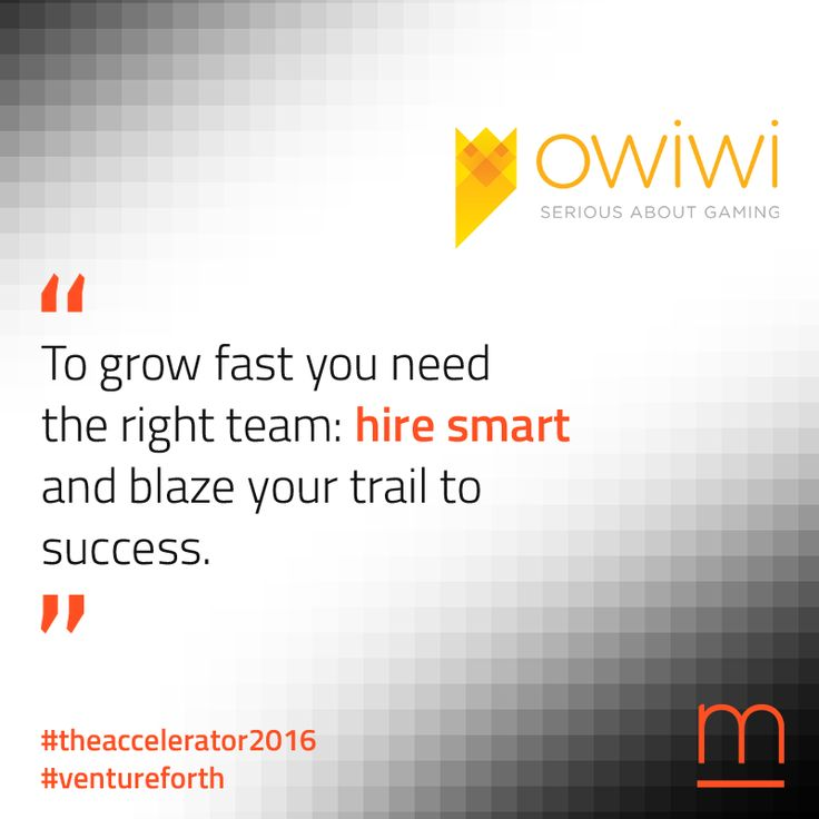 Create an inspiring #team: Owiwi will blaze the recruitment trail for the #TheAccelerator2016 #startups. Join The Accelerator – submit your company at:  http://metavallon.org/the-accelerator/
