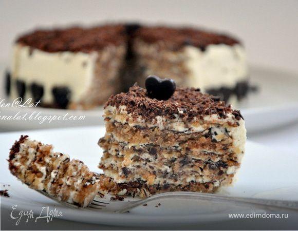 Хочу предложить вашему вниманию совсем не сложный, но безумно вкусный ореховый торт. Для меня на сегодняшний день, наверно, он самый вкусный. Когда его ешь, получаешь истинное наслаждение, восторг!...